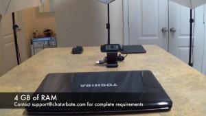 Consejo de Chaturbate: cámara web adecuada y configuración de iluminación